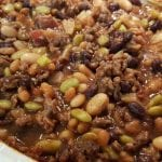 THIS CALICO BEAN CASSEROLE IS THE BEST THING YOU CAN MAKE WITH CANNED BEANS