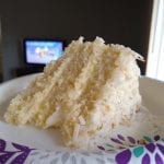 EASY & QUICK DELICIOUS COCONUT CAKE