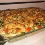 FRESH ASPARAGUS AND CHICKEN CASSEROLE