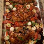SHEET PAN BAKED BALSAMIC CHICKEN WITH POTATOES