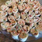 VEGETABLE CREAM CHEESE TORTILLA ROLL UPS